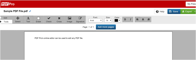 how to edit pdfs with PDF file editor